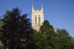 St. Edmundsbury Cathedral in Bury St Edmunds Stock Photos