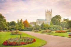 St Edmundsbury Cathedral Stock Images