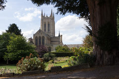 St Edmundsbury Cathedral stock photos