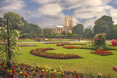 St Edmundsbury Cathedral royalty free stock photography
