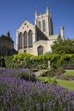 St Edmundsbury Catheral begraver in St Edmunds Royaltyfria Foton