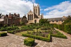 St Edmundsbury Kathedraal royalty-vrije stock fotografie