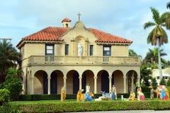 St. Edward Roman Catholic Church, Palm Beach, Florida stockfoto