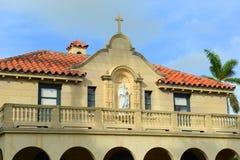 St. Edward Roman Catholic Church, Palm Beach, Florida lizenzfreies stockfoto