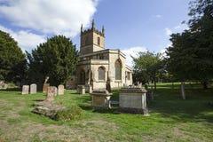 St Edwards församlingkyrkan av Stow i wolden arkivbilder