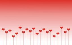 St. ejemplo del día de tarjetas del día de San Valentín Foto de archivo libre de regalías