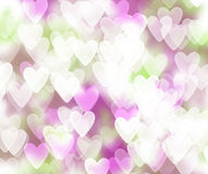 St. El día de tarjeta del día de San Valentín Imágenes de archivo libres de regalías