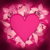 St. El día de tarjeta del día de San Valentín Foto de archivo