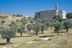 St. Elias klooster (Jeruzalem) Royalty-vrije Stock Fotografie