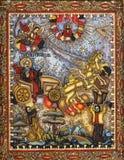 St Elijah Ascend To Heaven Image libre de droits