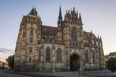 St Elisabeth Cathedral a Kosice Immagine Stock