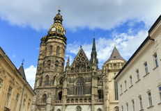 St. Elisabeth Cathedral in Kosice, Slovakia Royalty Free Stock Photos
