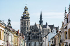 St. Elisabeth cathedral in Kosice, Slovakia Royalty Free Stock Photography