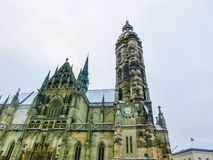 The St. Elisabeth Cathedral in Kosice, Slovakia stock photography