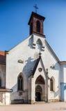 St. Elisabeth church in Banska Bystrica - Slovakia. St. Elisabeth church on main square in Banska Bystrica - Slovakia stock photo