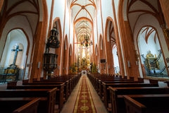 St. Elisabeth Church interior Royalty Free Stock Images