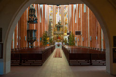 St. Elisabeth Church interior Royalty Free Stock Photography