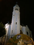 St Elisabeth Church At Night Immagine Stock