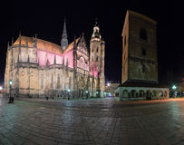 St Elisabeth katedry panorama Zdjęcie Royalty Free