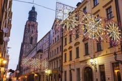 St. Elisabeth`s Church in Wroclaw Royalty Free Stock Photos