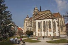 St Elizabeth Cathedral som byggs i 1508 Arkivfoto