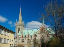 St Elizabeth kościół, Eisenach, Niemcy Obraz Stock