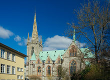 St. Elizabeth's Church, Eisenach, Germany Stock Image