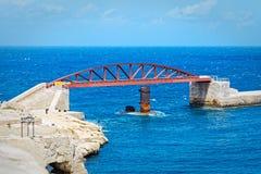 St. Elmo bridge, Valletta, Malta Royalty Free Stock Images