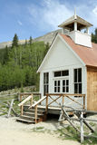 St. Elmo Church. The church in Saint Elmo Ghost town. St. Elmo is Colorado's best-preserved ghost town and a popular tourist attraction Royalty Free Stock Image