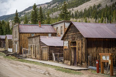 St. Elmo Colorado Ghost Town stockfoto