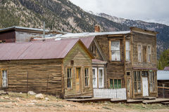 St. Elmo Colorado Ghost Town stockbild