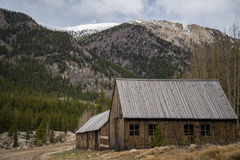 St. Elmo Colorado Ghost Town lizenzfreie stockbilder