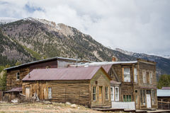 St. Elmo Colorado Ghost Town stockfotografie