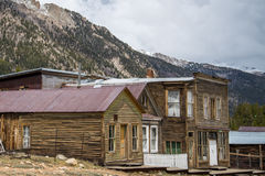 St. Elmo Colorado Ghost Town lizenzfreies stockfoto
