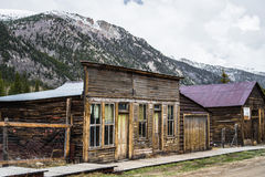 St Elmo Colorado Ghost Town - Abandoned Buildings Royalty Free Stock Photography