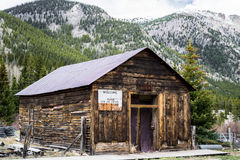 St Elmo Colorado Ghost Town - Abandoned Buildings Royalty Free Stock Image