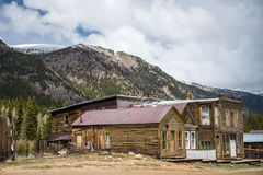 St Elmo Colorado Ghost Town. Extremely popular vacation attraction located in central Colorado. The St Elmo Ghost town is an old but not forgotten Mining stock image