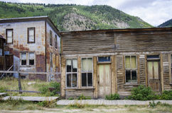 St Elmo Ghost Town in Colorado and Gold town Stock Photo