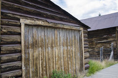 St Elmo Ghost Town in Colorado and Gold town Royalty Free Stock Photos