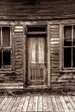 St Elmo Ghost Town dans le Colorado Image libre de droits
