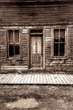 St Elmo Ghost Town dans le Colorado Photographie stock