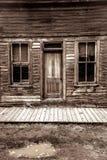 St Elmo Ghost Town i Colorado Arkivbild
