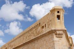 St Elmo Wall del fuerte Imagen de archivo libre de regalías