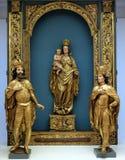 St Emeric、拉迪斯劳斯和维尔京和孩子 免版税库存图片
