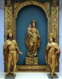 St Emeric、拉迪斯劳斯和维尔京和孩子 库存图片