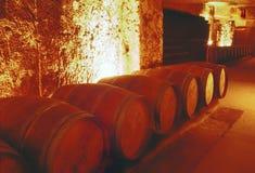 St emilion. Wine cellar st emilion gironde aquitaine france stock photos