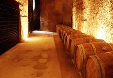 St emilion. Wine cellar st emilion gironde aquitaine france stock photography