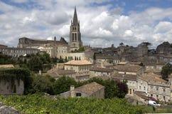 St. Emilion, Frankrijk Royalty-vrije Stock Afbeelding