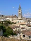 St. Emilion (Frankrijk) Stock Foto's