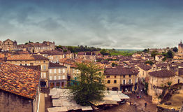 St-Emilion panorama Stock Images